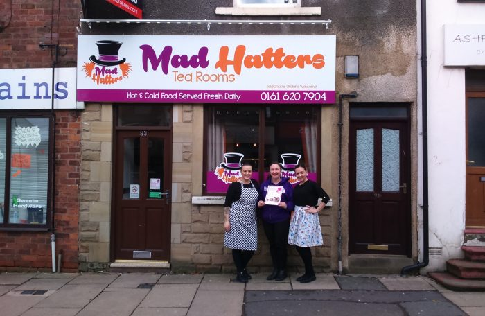 Mad Hatters Tearooms Breastfeeding Welcome Scheme
