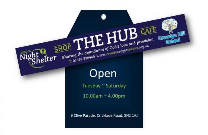 Swindon Night Shelter The Hub Shop and Cafe