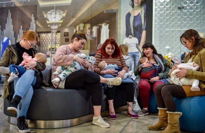 The Breastfeeding Welcome Scheme launches in Bradford